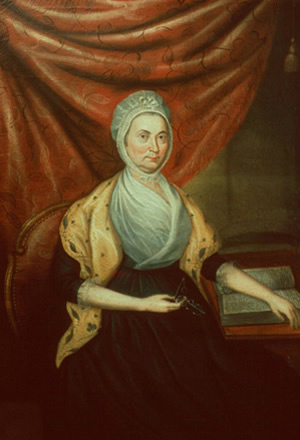 Nelly Conway Madison By Charles Peale Polke, 1799