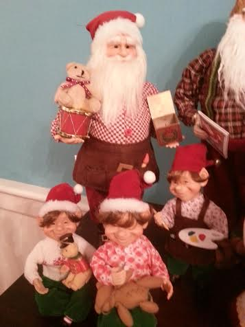 Santa Toy maker with helpers
