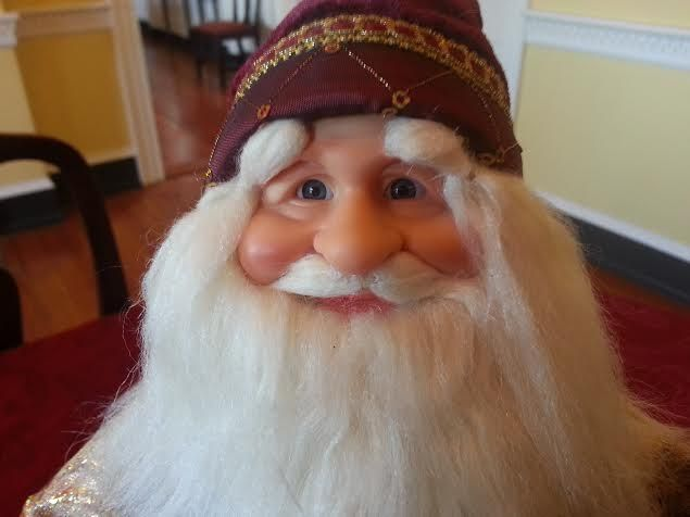 Santa Wizard face